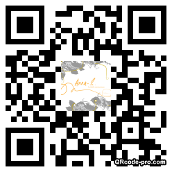 QR code with logo xTM0