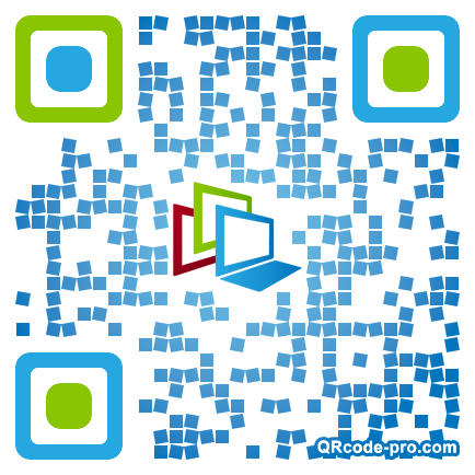 QR code with logo xVd0