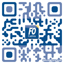 QR code with logo xVr0