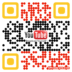 QR code with logo xcw0