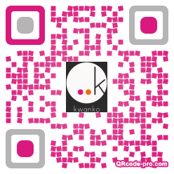 QR code with logo xjd0