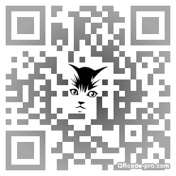 QR code with logo xrA0