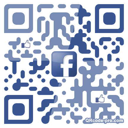 QR code with logo xs30