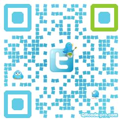 QR code with logo xuz0