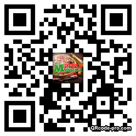 QR code with logo xy90