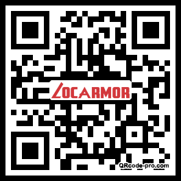 QR code with logo xyF0