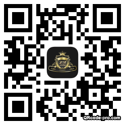 QR code with logo xyI0