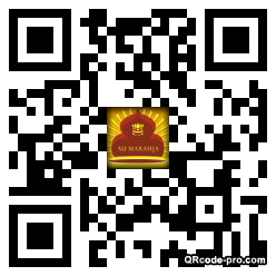 QR code with logo xyj0