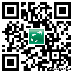 QR code with logo xys0
