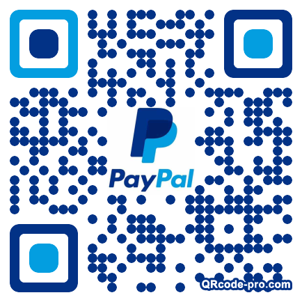 QR code with logo y2t0