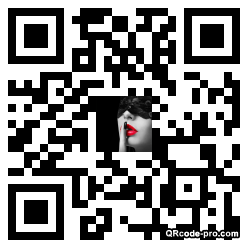 QR code with logo yHg0