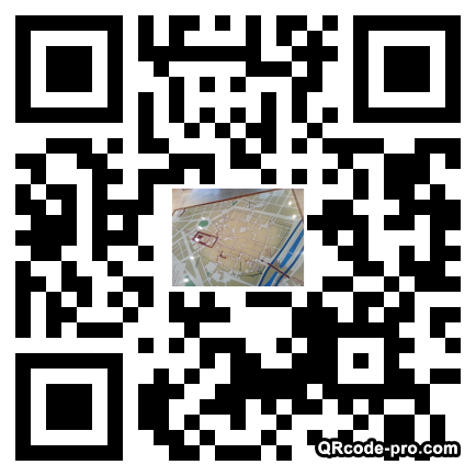 QR code with logo yIc0