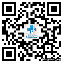 QR code with logo yX50