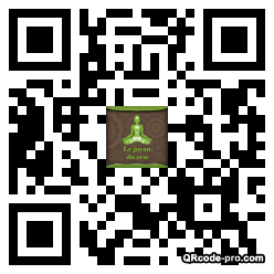 QR code with logo yZS0
