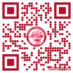 QR code with logo yc70