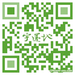 QR code with logo yki0