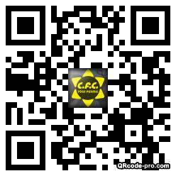QR code with logo ymu0