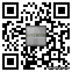 QR code with logo ys60
