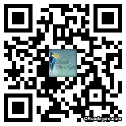 QR code with logo z3s0