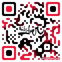 QR code with logo z3x0