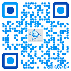 QR code with logo z6p0