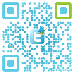 QR code with logo zH70