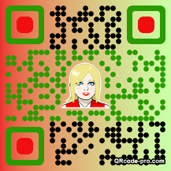 QR code with logo zMg0
