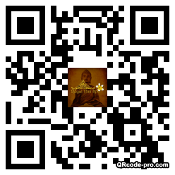 QR code with logo zOO0