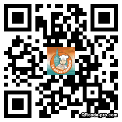 QR code with logo zOS0