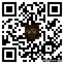 QR code with logo zOV0