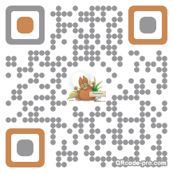 QR code with logo zTO0