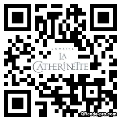 QR code with logo zXz0