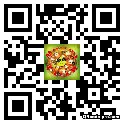 QR code with logo zc20