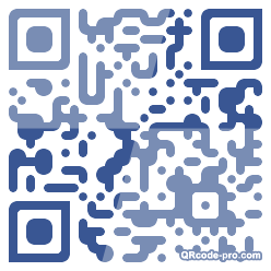 QR code with logo zdm0