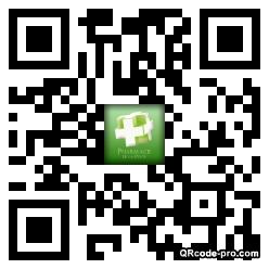 QR code with logo zef0