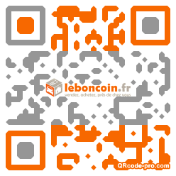 QR code with logo zxX0