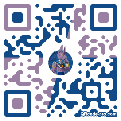 QR code with logo 1EDp0